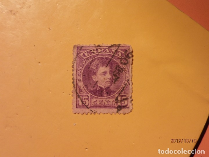 ESPAÑA 1901-1905 - ALFONSO XIII - TIPO CADETE - EDIFIL 246. (Sellos - España - Alfonso XIII de 1.886 a 1.931 - Usados)