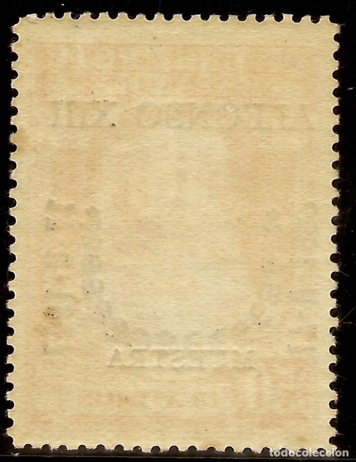 Sellos: Edifil Especializado 358M** Mnh Muestra 50 Céntimos Naranja Jubileo 1927 NL488 - Foto 2 - 179946481