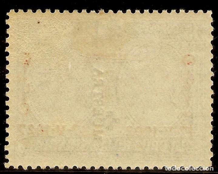 Sellos: Edifil Especializado 353M** Mnh MUESTRA 15 Céntimos Azul Jubileo 1927 NL1062 - Foto 2 - 179948423
