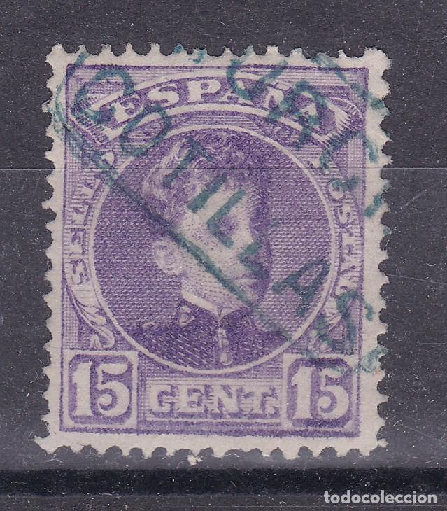 CC8-ALFONSO XIII CADETE . MATASELLOS CARTERÍA COTILLAS MURCIA (Sellos - España - Alfonso XIII de 1.886 a 1.931 - Usados)