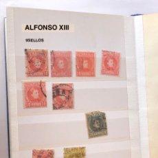 Sellos: ALFONSO XIII (9SELLOS)-4(9€). Lote 180263987