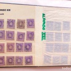Sellos: ALFONSO XIII(16SELLOS)-3(16€). Lote 180264163