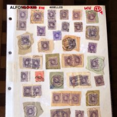 Sellos: ALFONSO XIII-1(48SELLOS)(24€). Lote 180264948