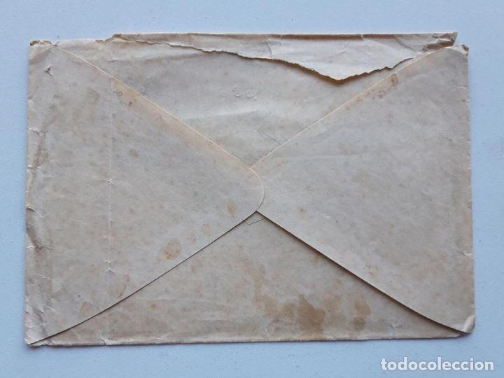 Sellos: Edifil 219 x 2 en sobre Lagar - Foto 2 - 180293180
