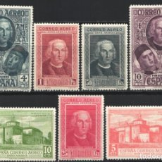 Sellos: 1930 EDIFIL Nº 559 / 565 /*/, DESCUBRIMIENTO DE AMÉRICA . Lote 180894181