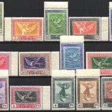 Sellos: 1930 EDIFIL Nº 517 / 530 /**/, QUINTA DE GOYA EN LA EXPOSICIÓN DE SEVILLA, SIN FIJASELLOS. . Lote 180898772