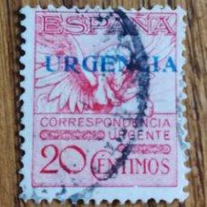 Sellos: ESPAÑA :N°459 USADO, PEGASO SOBRECARGADO (FOTOGRAFÍA REAL). Lote 180948822