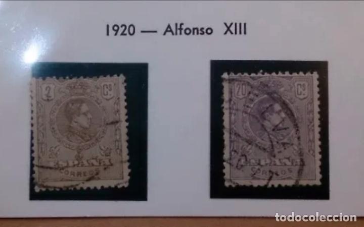 ESPAÑA - 1920 - ALFONSO XIII - EDIFIL 289/290 - SERIE COMPLETA. (Sellos - España - Alfonso XIII de 1.886 a 1.931 - Usados)