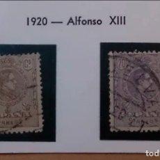 Sellos: ESPAÑA - 1920 - ALFONSO XIII - EDIFIL 289/290 - SERIE COMPLETA.. Lote 182223913