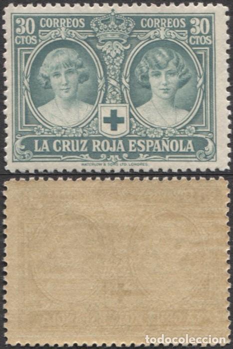 1926.- CRUZ ROJA ESPAÑOLA - EDIFIL 332 ¡VALOR CLAVE! (Sellos - España - Alfonso XIII de 1.886 a 1.931 - Nuevos)