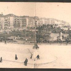 Sellos: HISTORIA POSTAL: TARJETA POSTAL DOBLE DE SANTANDER CON ED. 243 US. ZARAGOZA,1903.. Lote 183343017