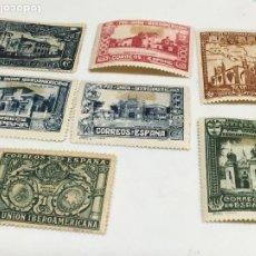 Sellos: 1930 PRO UNIÓN IBEROAMERICANA. / 566,67,69,70,72, 75 Y 76. Lote 183387082