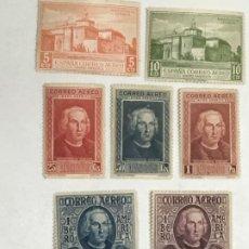 Sellos: 1930 DESCUBRIMIENTO DE AMERICA, SERIE COMPLETA NUEVOS E/559 A 565. Lote 183388642