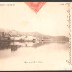 Sellos: HISTORIA POSTAL: TARJETA DE ORIO (GUIPÚZCOA) CON ED. 243 US. CARTERÍA SEVILLA-VILLAFRANCA-1. Lote 183482292