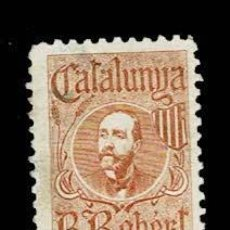Timbres: VN2-192-3 NACIONALISTAS SEPARATISTAS CATALUNYA - B. ROBERT COLOR CASTAÑO CLARO NATHAN Nº 40 SIN GOM. Lote 183748591