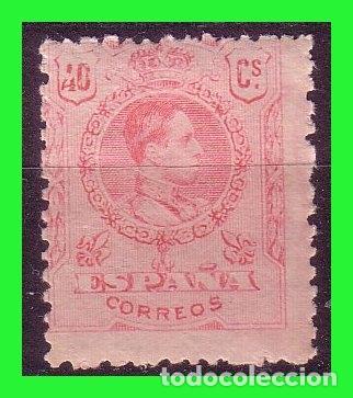 1909 ALFONSO XIII, MEDALLÓN, EDIFIL Nº 276 * * (Sellos - España - Alfonso XIII de 1.886 a 1.931 - Nuevos)