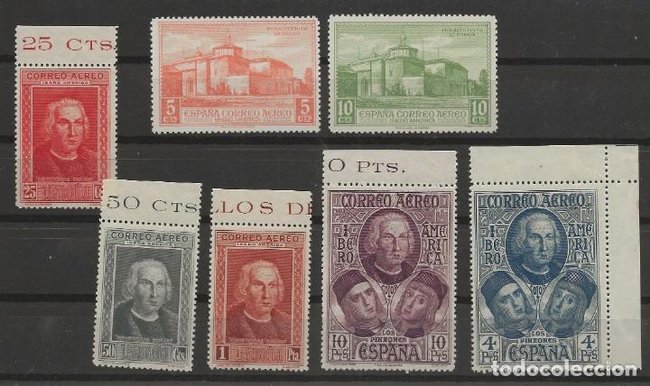 R37/ ESPAÑA 1930, EDIFIL 559/65, MNH **, DESCUBRIMIENTO AMERICA (Sellos - España - Alfonso XIII de 1.886 a 1.931 - Nuevos)