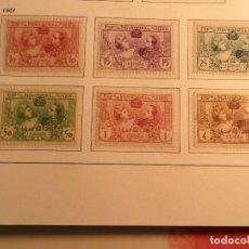 Timbres: ALFONSO XIII 1907 - SERIE COMPLETA EDIFIL (SR1 - SR6) - SIN GOMA NUEVOS. Lote 186170347
