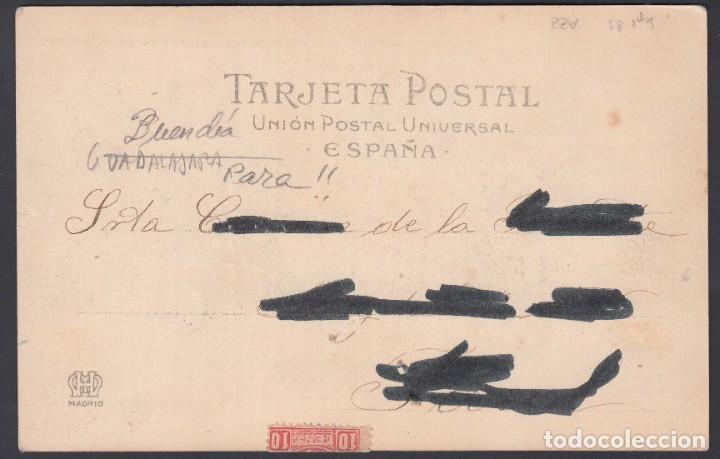 Sellos: TARJETA, Buendia a Ferrol, Carteria Especial de Iniciativa Particular BUENDIA / CUENCA - Foto 2 - 187323880