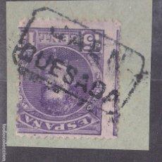 Sellos: LL5- ALFONSO XIII CADETE MATASELLOS CARTERÍA QUESADA JAÉN. FRAGMENTO. Lote 187500725