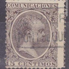 Sellos: LL5- ALFONSO XIII PELÓN MATASELLOS CARTERÍA PONT DE SUERT LÉRIDA . Lote 187500910