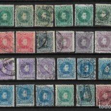 Sellos: ESPAÑA 1901 - 1905 USADOS - 3/7. Lote 187530910