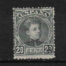 Sellos: ESPAÑA 1901 EDIFIL 247 USADO - 3/5. Lote 187535493