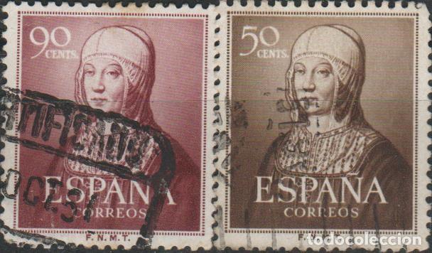 LOTE D SELLOS ISABEL LA CATOLICA (Sellos - España - Alfonso XIII de 1.886 a 1.931 - Usados)