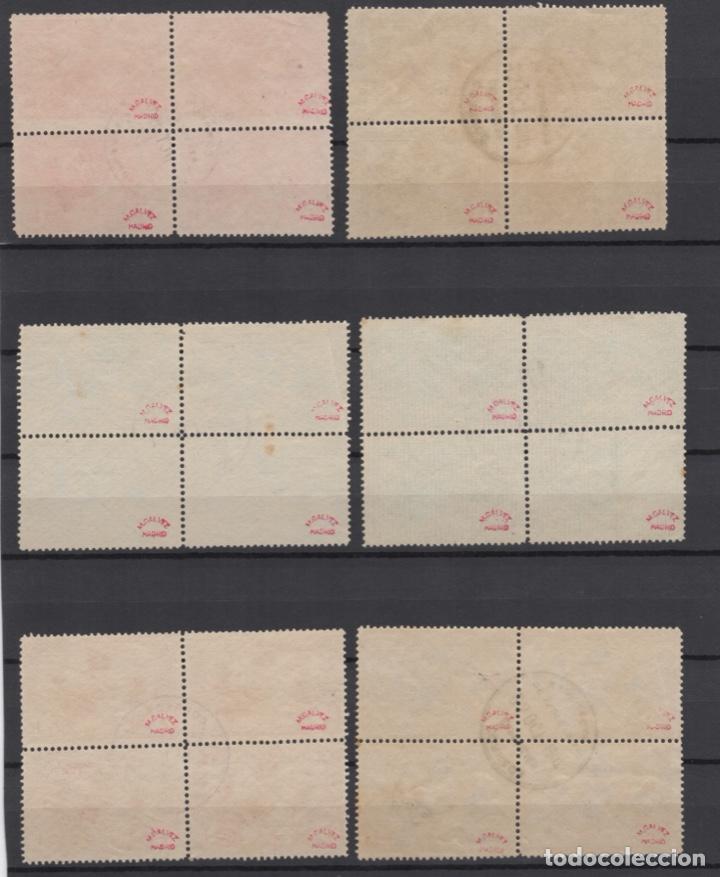 Sellos: 1907 Exposición de Industrias de Madrid Edifil SR 1/6 (º) BLOQUE 4 VC 280€ - Foto 8 - 189162820