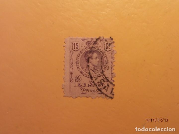 ESPAÑA 1909-1922 - ALFONSO XIII, TIPO MEDALLON - EDIFIL 270 (Sellos - España - Alfonso XIII de 1.886 a 1.931 - Usados)