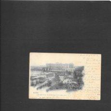 Sellos: MADRID POSTAL INICIO DE LA CONSTRUCCION CATEDRAL DE LA ALMUDENA CIRCULADA A LONDRES EN 1901. Lote 190813877