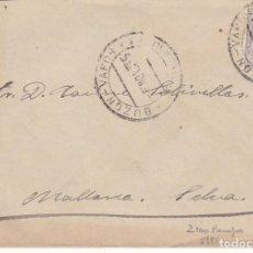 Sellos: F7-22- CARTA MATASELLOS BUZON- VAPOR PALMA DE MALLORCA 1915. MEDALLÓN LITOGRAFIADO . Lote 190894146