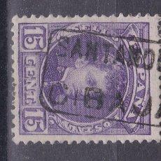 Francobolli: BB10- ALFONSO XIII CADETE MATASELLOS CARTERÍA CIBAJA SANTANDER. Lote 191323396