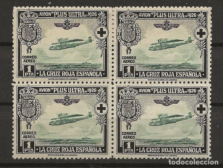 .G-SUB_2/ ESPAÑA 1926, EDIFIL 347 MNH**, PRO CRUZ ROJA ESPAÑOLA (Sellos - España - Alfonso XIII de 1.886 a 1.931 - Nuevos)