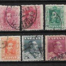 Sellos: ESPAÑA 1922-1930 ALFONSO XIII TIPO VAQUER - 15/25. Lote 191521138