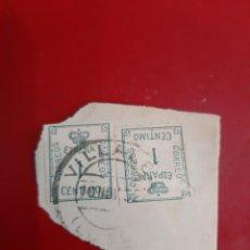 Sellos: MATASELLO VILLALBA LUGO LUGO EDIFIL 291. Lote 191564448