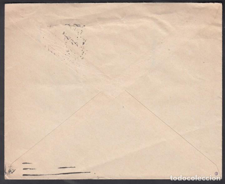 Sellos: Carta, Madrid - Barcelona, Matasellos Buzones Columna, Mediodía Madrid. - Foto 2 - 191659711