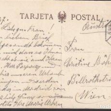 Sellos: TARJETA POSTAL, MATASELLOS AMBULANTE ASCENDENTE, SAN SEBASTIAN, 5.SEP.27. Lote 191660311
