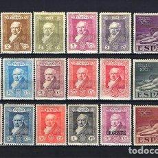 Sellos: 1930 ESPAÑA QUINTA DE GOYA - EDIFIL 499/516 - MH* NUEVOS CON FIJASELLOS . Lote 191929732