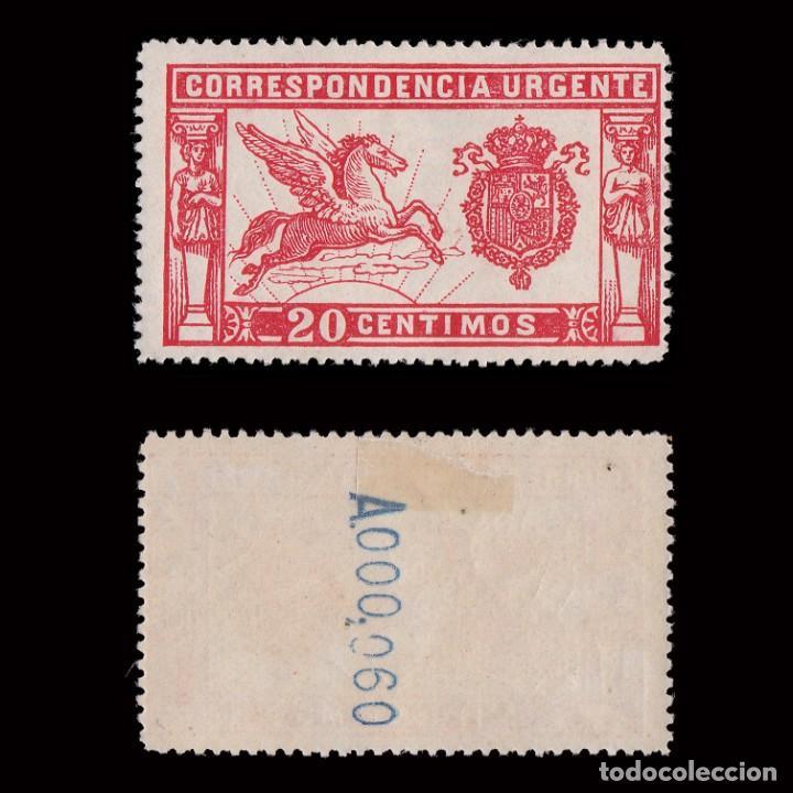 1905.PEGASO.20 C ROJO. NUEVO* MH.EDIFIL. 256 (Sellos - España - Alfonso XIII de 1.886 a 1.931 - Nuevos)