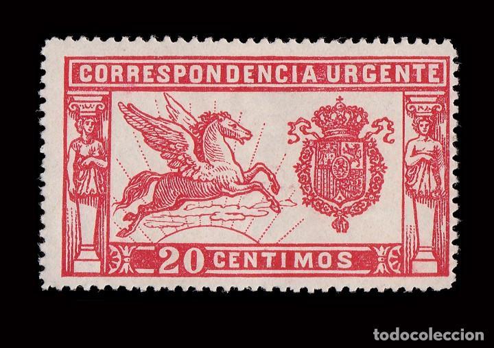 Sellos: 1905.Pegaso.20 c rojo. Nuevo* MH.Edifil. 256 - Foto 2 - 192357086