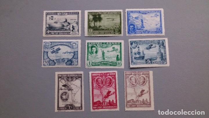ESPAÑA - 1930 - ALFONSO XIII - EDIFIL 583/591 - SERIE COMPLETA - MH* - NUEVOS - VALOR CATALOGO 190€ (Sellos - España - Alfonso XIII de 1.886 a 1.931 - Nuevos)