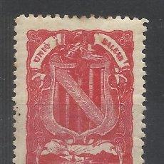 Timbres: UNIO BALEAR ROJO NUEVO* BALEARES. Lote 193301926