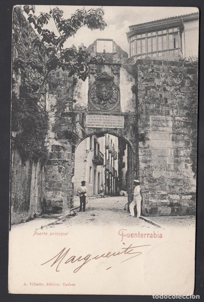 Sellos: TARJETA POSTAL, Irun a Paris, sello de Tasa Francés por falta de franqueo - Foto 2 - 193737471