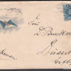 Sellos: CARTA COMERCIAL, SAN SEBASTIAN A ALEMANIA, . Lote 193738326