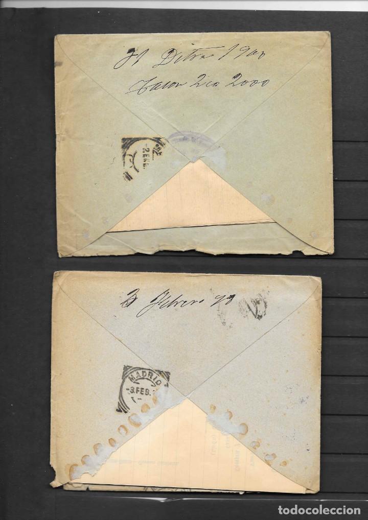 Sellos: LEON 3 SOBRES CON MATASELLOS DE CARTERIAS CIRCULADOS A MADRID, también temática Masones - Foto 3 - 193796877