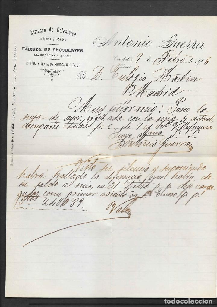 Sellos: LEON 3 SOBRES CON MATASELLOS DE CARTERIAS CIRCULADOS A MADRID, también temática Masones - Foto 4 - 193796877