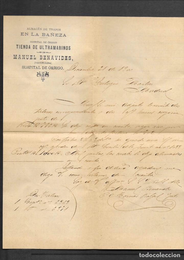 Sellos: LEON 3 SOBRES CON MATASELLOS DE CARTERIAS CIRCULADOS A MADRID, también temática Masones - Foto 5 - 193796877