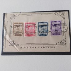 Sellos: SELLOS PRO EXPOSICIONES SEVILLA Y BARCELONA AÑO 1929 ESPAÑA. Lote 193820800