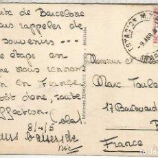 Sellos: SEGUNDA REPUBLICA BARCELONA TP CON MAT ESTACION FERROCARRIL MZA RAILWAY STATION . Lote 193955041